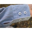 Mens Shirt Sleeves Shortening Replace Cuffs