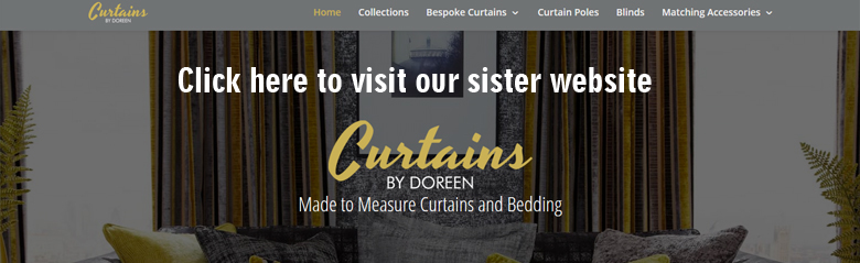 Made to measure curtains bury